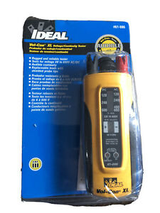 Ideal Vol con Xl Voltage Meter continuity solenoid Tester Wiggy 61 086 See Pics