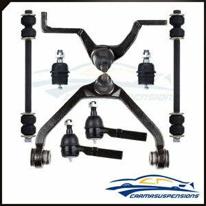 For 95 1996 1997 Ford Explorer Front Control Arm Ball Joint Tie Rod Links Kit X8