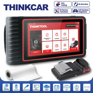 Thinkcar Automotive All System Obd2 Scanner Diagnostic Tablet Scan Tool Tpms Us