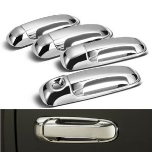 For 2002 2008 Dodge Ram 1500 2003 2009 Ram 2500 3500 Chrome Door Handle Covers