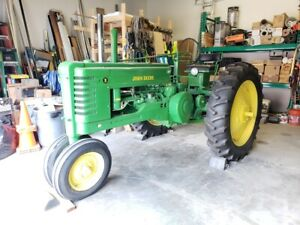 Fully Restored 1947 John Deere Model B Tractor W Foot Starter Pto Field Farm