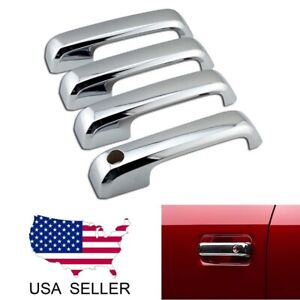 For 2015 2016 2017 2018 2019 2020 Ford F150 Chrome Door Handle Covers F 150