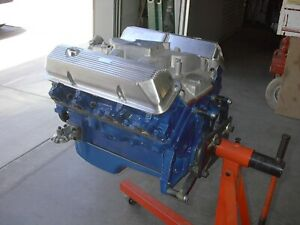 428 Cobra Jet Ford Mustang Engine