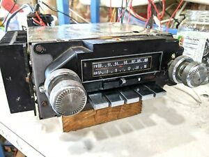 1976 1974 1975 Cadillac Oem Am Fm 8 Track Stereo Radio Repaired And Fully Good