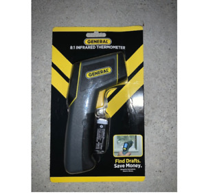New General Laser Temperature Non contact Infrared Thermometer 8 1