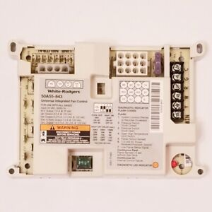 White rodgers 50a55 843 Furnace Control Board 5001 7744b
