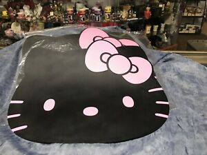 Hello Kitty Black W Pink Car Floor Mats 2 E641