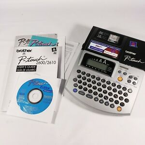 Brother Pt 2600 Electronic Labeling System Prints P touch