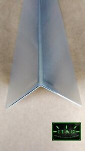 2 X 2 X 24 Aluminum Mill Finish Outer Corner Guard Angle Wall Protector 063