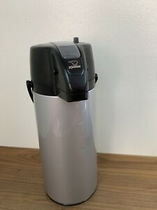 Zojirushi Lever Action Airpot Glass Lined Thermal Coffee Dispenser 2 2 Liter