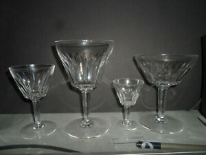 BACCARAT CRYSTAL GLASSES 42 PIECES