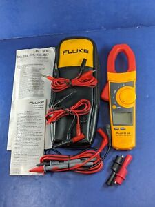 Fluke 336 Trms Clamp Meter Excellent Screen Protector Soft Case