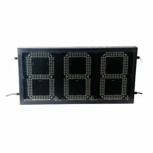 10 Led Gas Station Electronic Fuel Price Sign 888