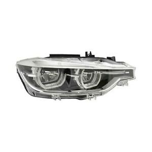Bm2503187 Headlight Assembly Passenger Side For Bmw 3 Led W o Afs Rh