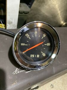 Factory Console Mount Tachometer From 1965 Mercury Marauder