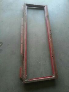 61 International Scout 80 Windshield Frame With Fold Down Hinges And Hood Latch