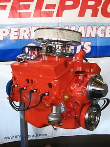 Chevrolet 327 330 Hp High Perf Turn key Crate Engine Chevy