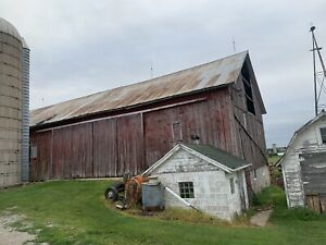 Old Wisconsin Barn 35x100 Dissmantled