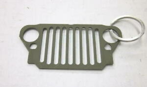 Mb Gpw Willys Ford Wwii Jeep G503 Front Grill Keychain