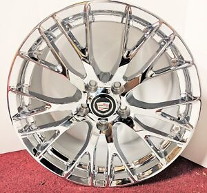 Set Of 4 Cadillac Xlr Xlr V Only Perfect Fit Chrome Plated 19 X 8 5 Wheels