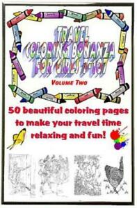 Travel Coloring Bonanza for Girls Ages 7 107 Volume 2 $14.18