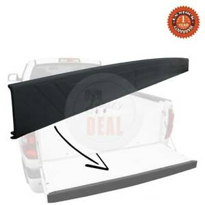 For 2014 2020 Toyota Tundra Abs Tailgate Cap Cover Rear Top Moulding Protector