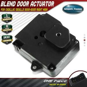 A C Heater Blend Door Actuator For Cadillac Deville 2000 2005 Right Main 604 167