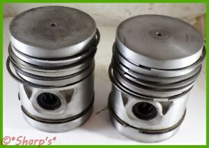 B3848r John Deere 520 530 High Altitude High Compression Pistons Pair