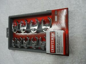 Craftsman 3 8 Drive Metric Mm Flare Nut Crowfoot Wrench Set Part 42048