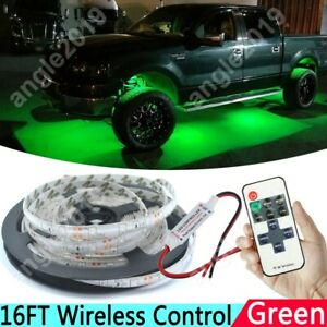 2835 Green Car Accent Underbody Led Glow Neon Light Strip Kit For Ford F series
