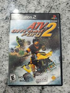 ATV Offroad Fury 2 PS2  *TESTED Free Fast Shipping