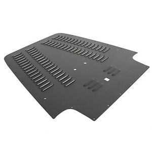 Black Paint Aluminum Vent Hood Louver Cover For 03 04 05 06 Jeep Wrangler Tj Lj