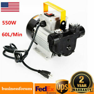 Commercial Self Priming Electric Oil Pump Transfer Fuel Diesel Ac110v 16gpm Usa
