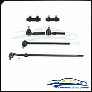 Fit For Ford F 100 150 250 350 Bronco 6 Suspension Steering Tie Rod Ends Kit