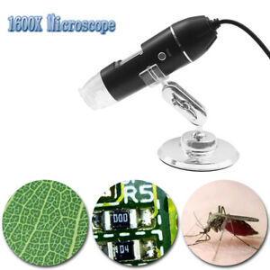 1600x Usb Digital Microscope For Electronic Accessories Coin Inspection Us Stock