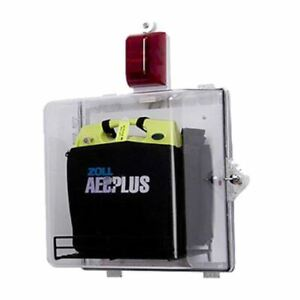 Clear Aed Plus Wall Cabinet Alarmed