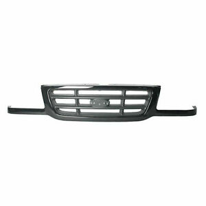 New Black And Silver Grille For 2001 2003 Ford Ranger Fo1200393 Ships Today