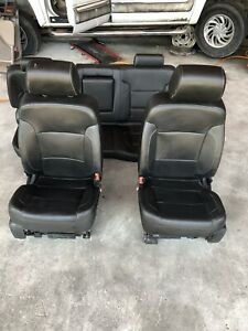 2014 Silverado Ltz Black Leather Seats