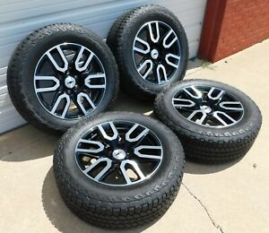 Chevy Silverado 1500 Trail Boss 20 Wheels Tires Lugs Sensors Oem 5914 Black