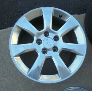 17 2013 14 15 16 Cadillac Ats 7 Spoke Polished Rim Wheel
