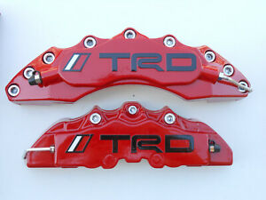 4x Caliper Brake Cover Toyota Racing Development trd