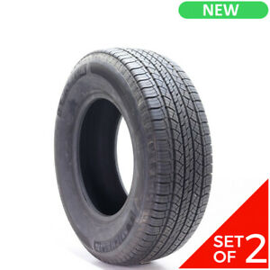 Set Of 2 New 265 70r17 Michelin Latitude Tour 113t 12 5 32