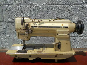 Industrial Sewing Machine Singer 212u141 With Reverse Two Needle leather