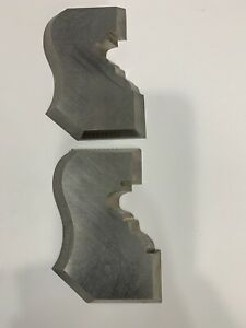 Woodworking Custom Molding Shaper Cutters Double 2 In One Molding Cutter