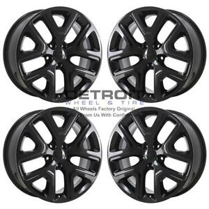 18 Jeep Renegade Gloss Black Exchange Wheels Rims Factory Oem 9149 2015 2019