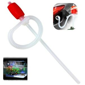 Car Manual Hand Long Siphon Pump Hose Water oil gas Transfer Syphon Pump Kit