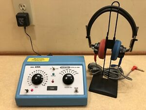 Ambco 650a Portable Audiometer W New Calibration Certificate