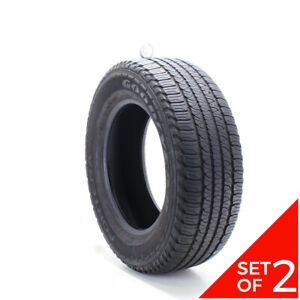 Set Of 2 Used 245 65r17 Goodyear Fortera Hl 105t 7 5 8 32