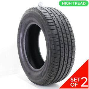 Set Of 2 Used 275 65r18 Michelin Defender Ltx M S 116t 9 32