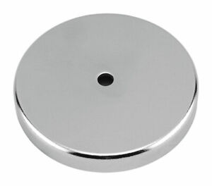 Master Magnetics 44 In Ceramic Round Base Magnet 95 Lb Pull 3 4 Mgoe Silve